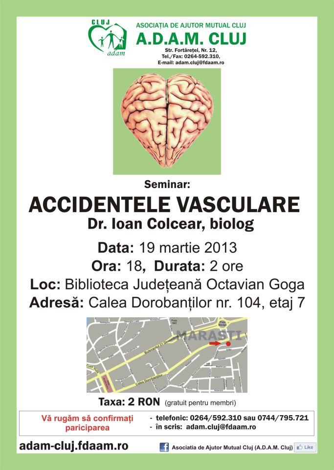 Accidentele_vasculare_ioan_colcear_seminar_adam_cluj_food_news_romania