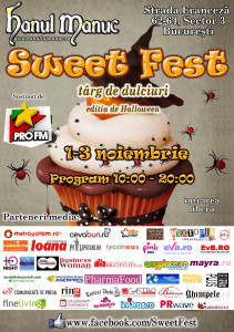 Afis_Sweet_fest_food_news_romania_cuibus