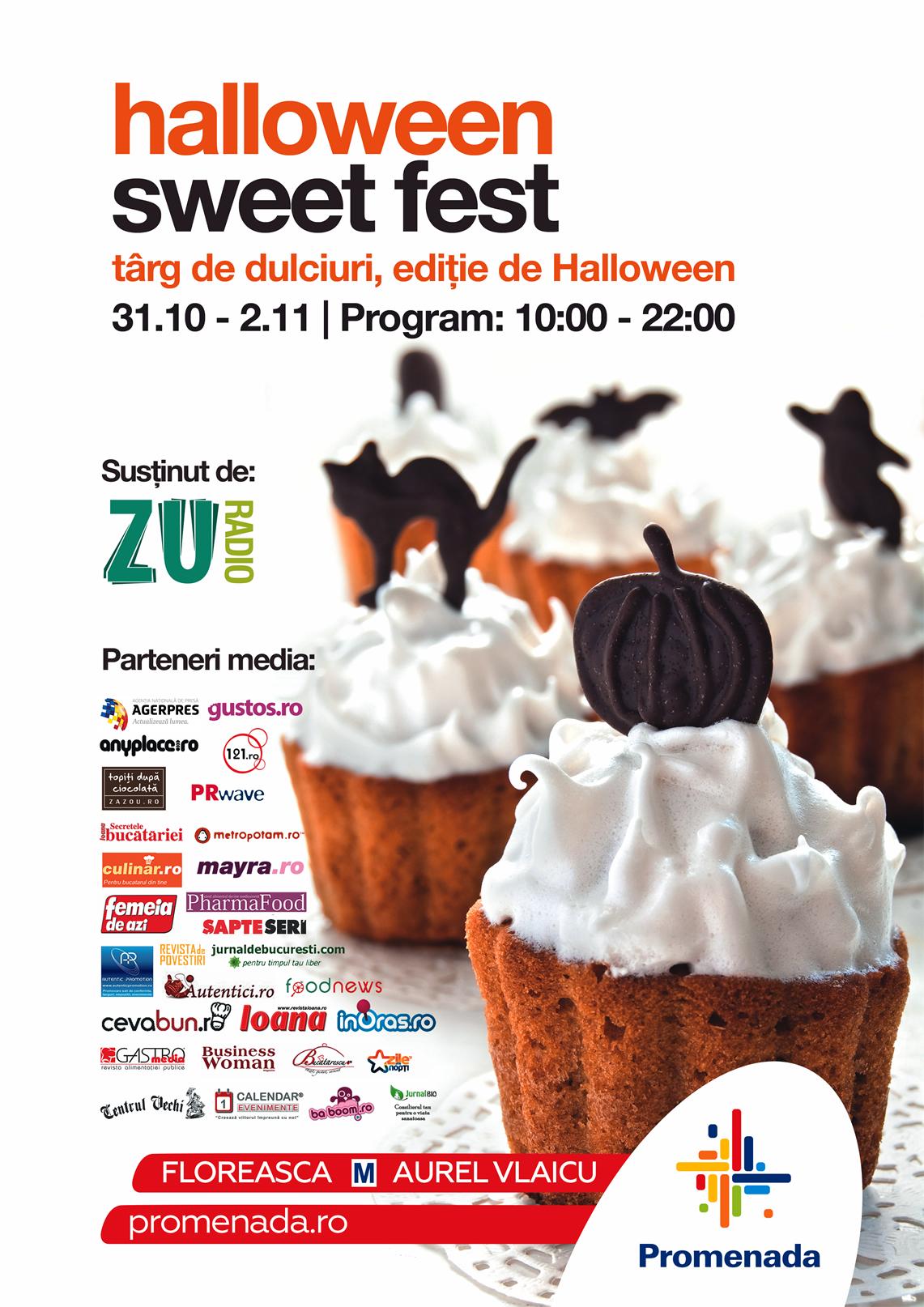 Afis Sweet Fest - Halloween 2014