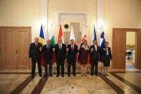 Participarea secretarului de stat Teodor Mihalcea la Reuniunea Grupului  de la Vişegrad 4+3