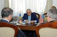 Ministrul Petre DAEA s-a întâlnit cu reprezentanţii AMRO